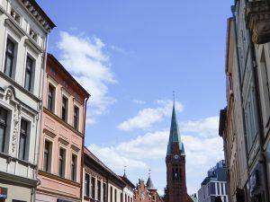 ポーランド ブィドゴシュチュの風景